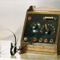 أول راديو كريستال في اليابان