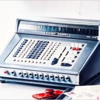 آلة حاسبة الكترونية لسطح المكتب بتقنية ثنائيات الترانزستور