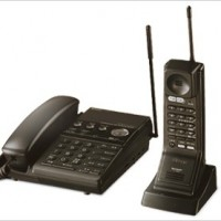 Low-Power Cordless Phone with Answering Machine Function
