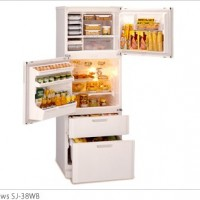 Dual-Swing Door Refrigerator <sj>