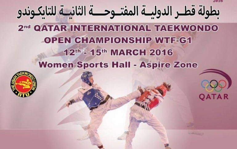 Sharp Sponsors 2nd Qatar International Taekwondo Open Championship