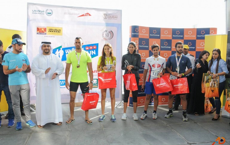 Sharp participated in Wellman Road Run - Meydaan, Dubai