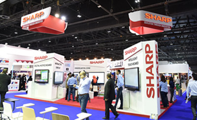 Sharp showcases latest educational solutions at GESS 2015